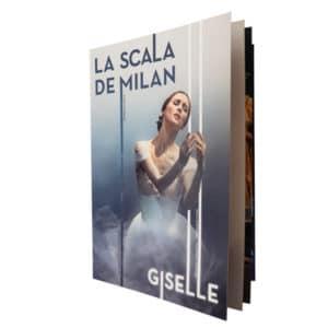 Brochure La Scala de Milan